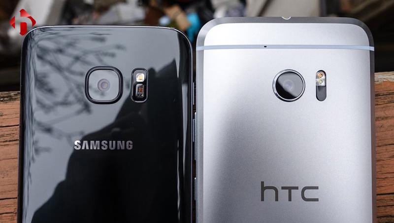 Camera trên HTC 10 và Galaxy S7