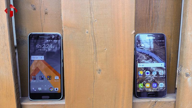 so sánh HTC 10 và Galaxy S7