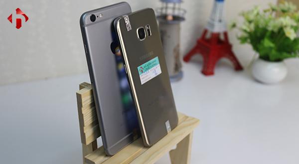 So sánh thiết kế của iPhone 6s Plus và galaxy S7 Edge