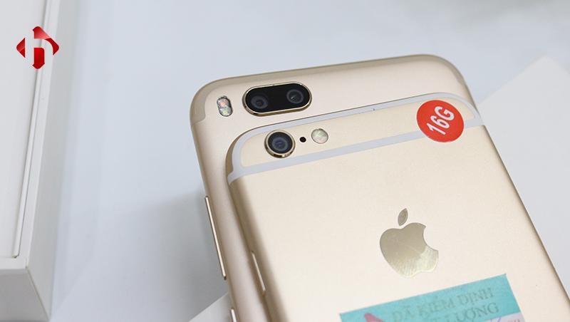 so sánh camera của iphone 6 và Xiaomi mi 5x