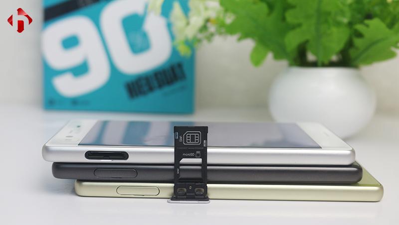 Sony Xperia X trang bị hai và hỗ trợ thẻ nhớ ngoài