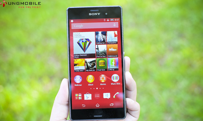 màn hình 5.2 inch, hiển thị tuyệt đẹp với công nghệ hiện đại