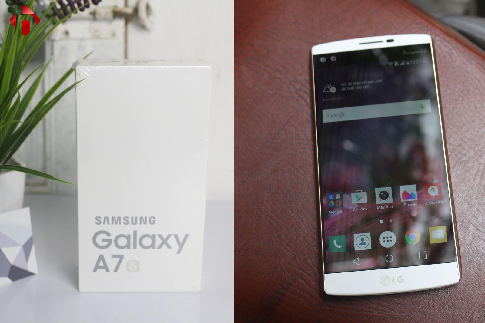 Galaxy A7 2016 là máy mới