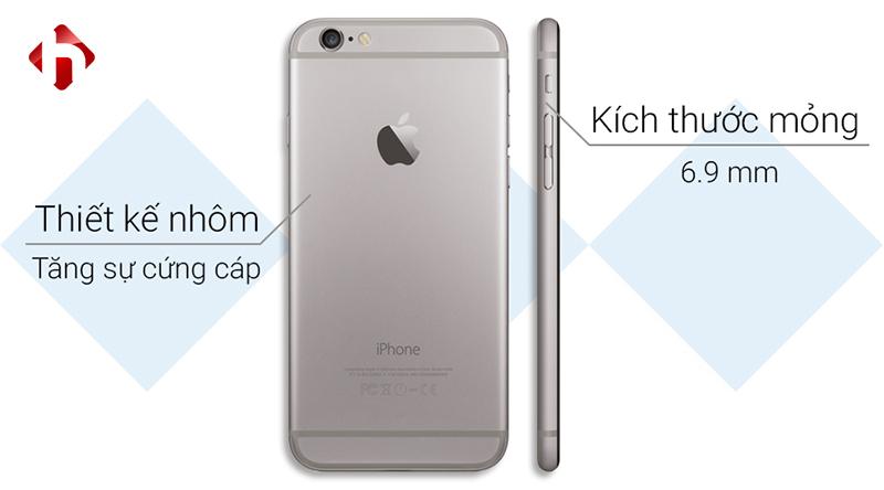 thiết kế trên iphone 6