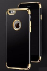 Ốp lưng dẻo iPhone 6, 6s, 6 Plus, 6s Plus viền mạ vàng