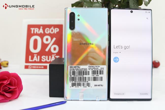 Galaxy Note 10 Plus Mỹ 256GB Mới 100% (ĐBH)