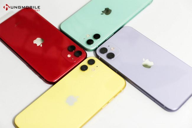iPhone 11 128GB 2 Sim Vật Lý Đẹp 99%
