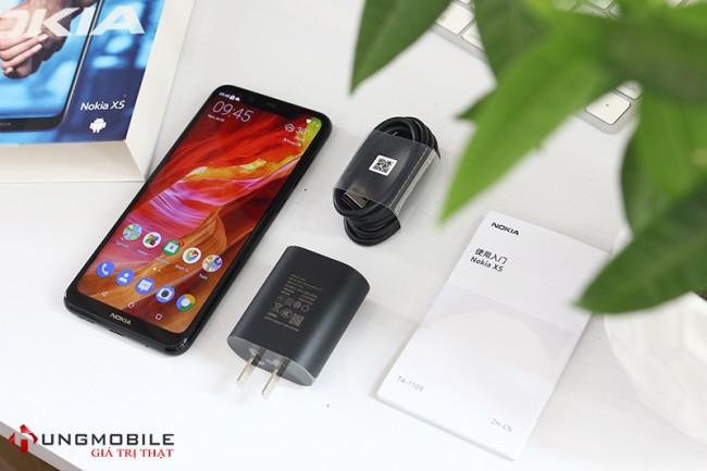 Nokia X5 (2018) 4GB/64GB Likenew Fullbox