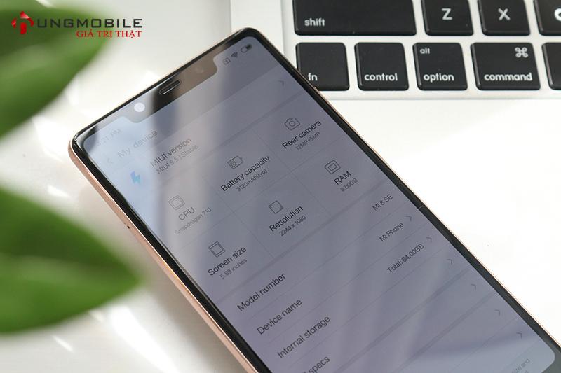 Cấu hình Xiaomi Mi 8 SE