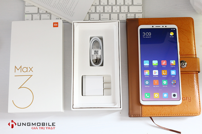 Mở hộp Xiaomi Mi MAx 3