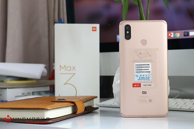 Thiết kế mặt sau Xiaomi Mi Max 3