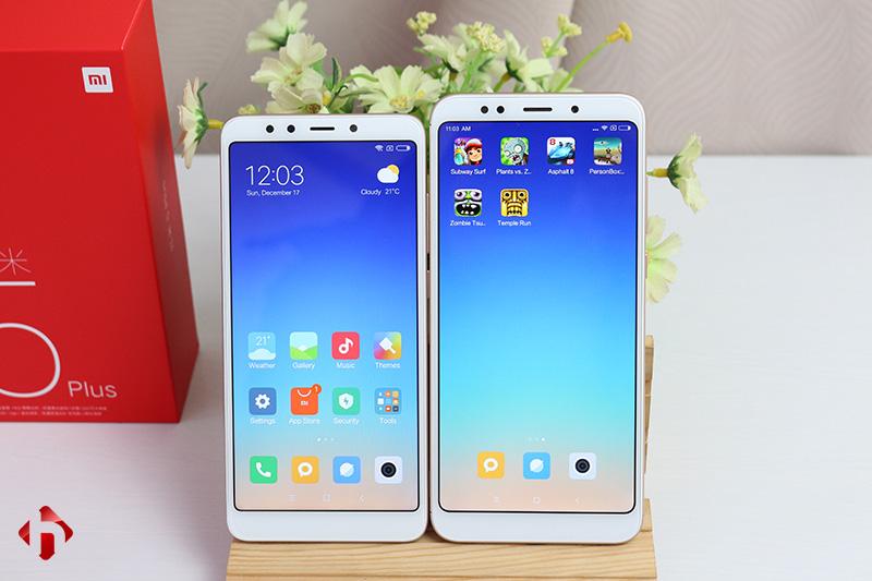 So sánh Xiaomi Redmi 5 Plus và Redmi 5. Có những gì khác biệt ?
