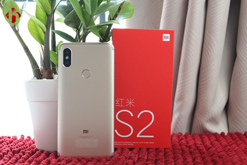 Mặt sau của Xiaomi Redmi S2 giá rẻ
